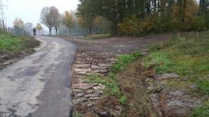Aanleg fietspad Caumerbeek (4)