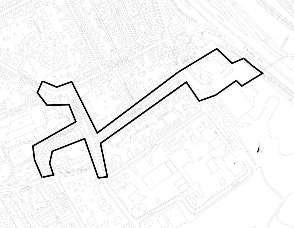 Plangebied Vloedstraat