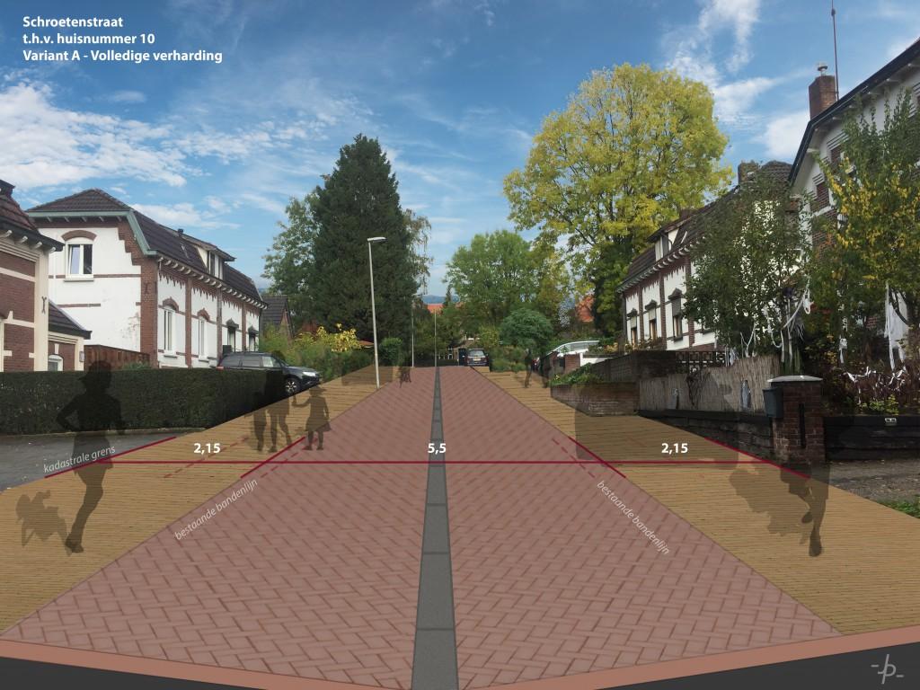 19.072 - Impressie Schroetenstraat - Variant A