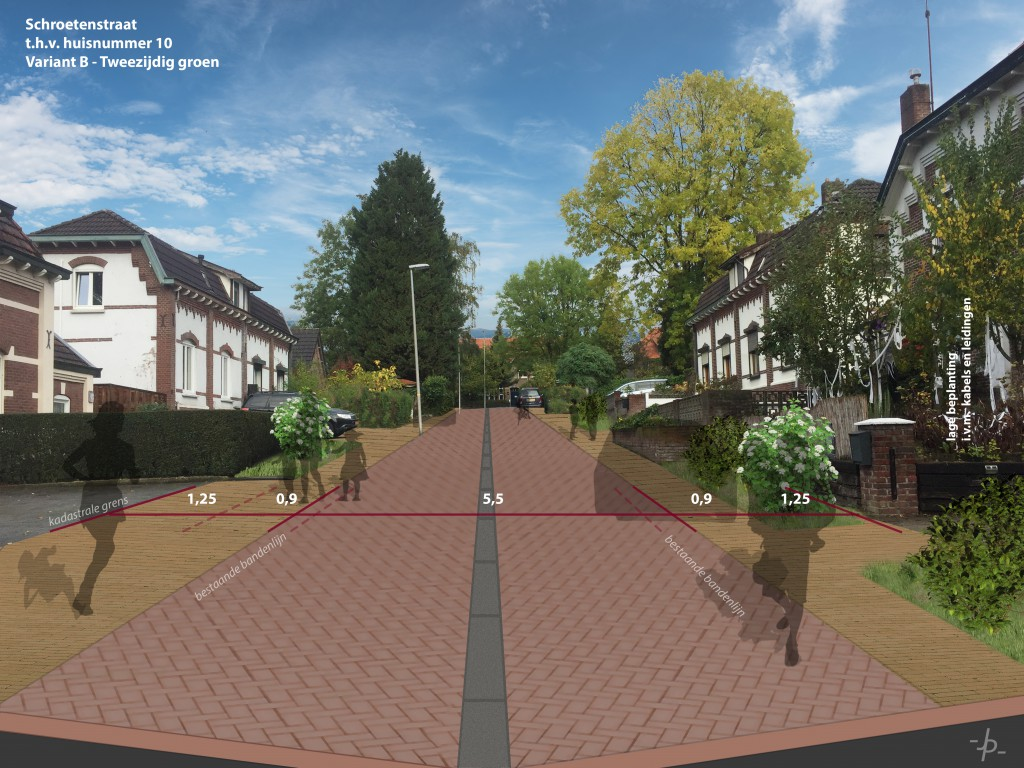 19.072 - Impressie Schroetenstraat - Variant B